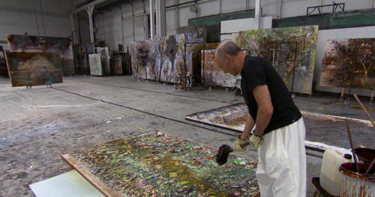 German artist Anselm Kiefer: A world cast in oil and lead - CBS News