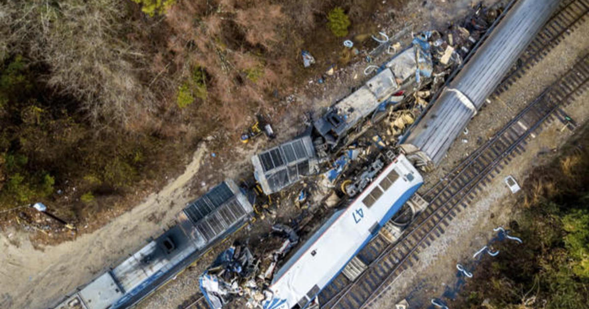 3rd Amtrak train derails in less than 2 months