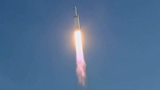 SpaceX's Falcon Heavy launch: