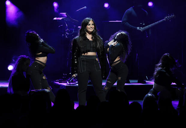 American Airlines and Mastercard Present Demi Lovato at New York City Center