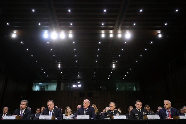 Intelligence Chiefs Testify To Senate Committee On World Wide Threats