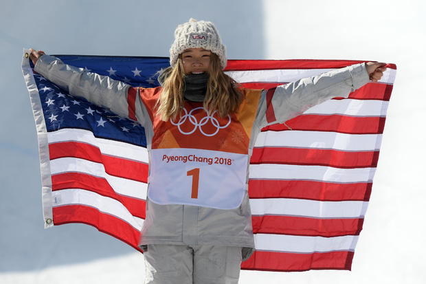 chloe kim wins gold
