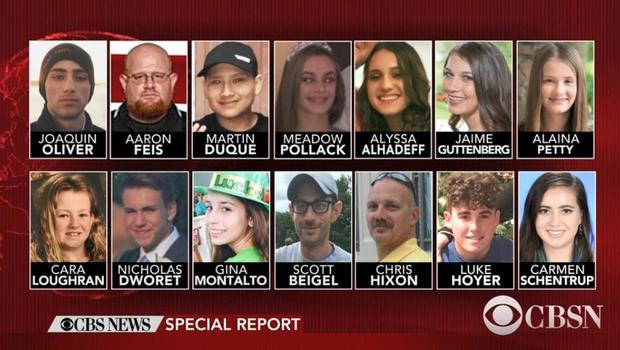 Florida school shooting victims identified by authorities