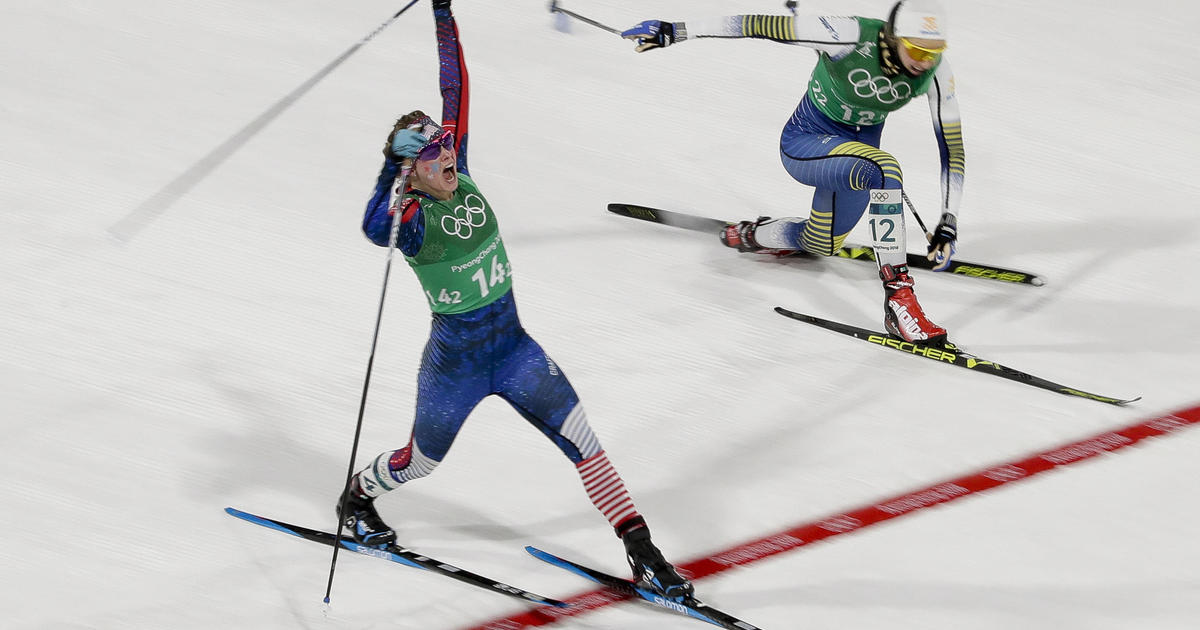 Winter Olympics 2018: U.S. women win first-ever cross-country gold medal