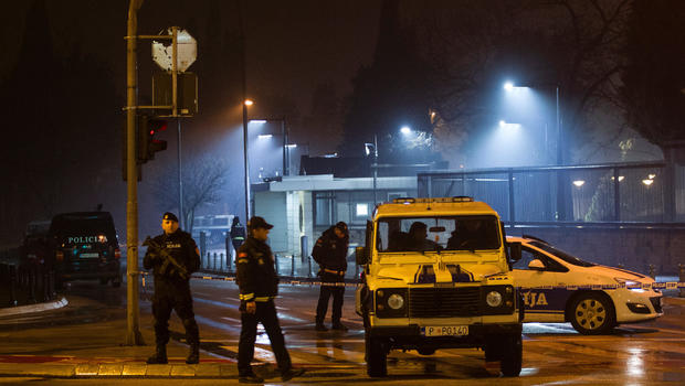 Man throws grenade at U.S. Embassy in Montenegro