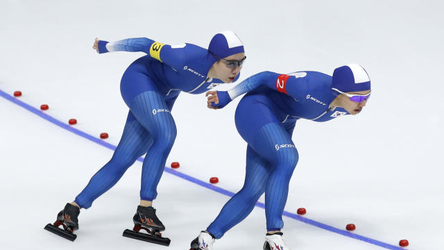 Pyeongchang Olympics Speed Skating Women South Korea Skating Dispute