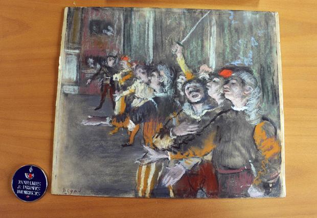 France Degas Found