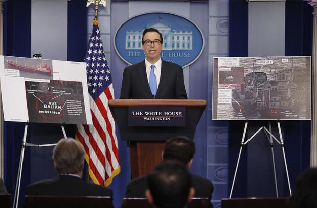 Trump North Korean Sanctions