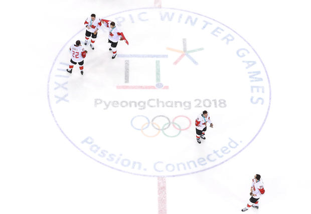 eff9385a2 Ice Hockey - Winter Olympics Day 15 - Best of the 2018 Winter Olympics   Week 2 - Pictures - CBS News
