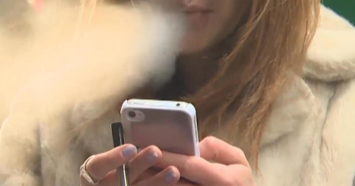 FDA calls teen vaping an