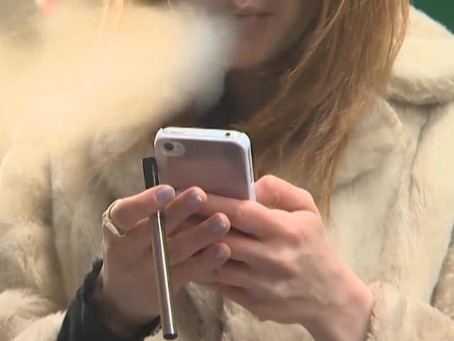 Concerns over health effects of vaping — and rising use among teens - CBS  News