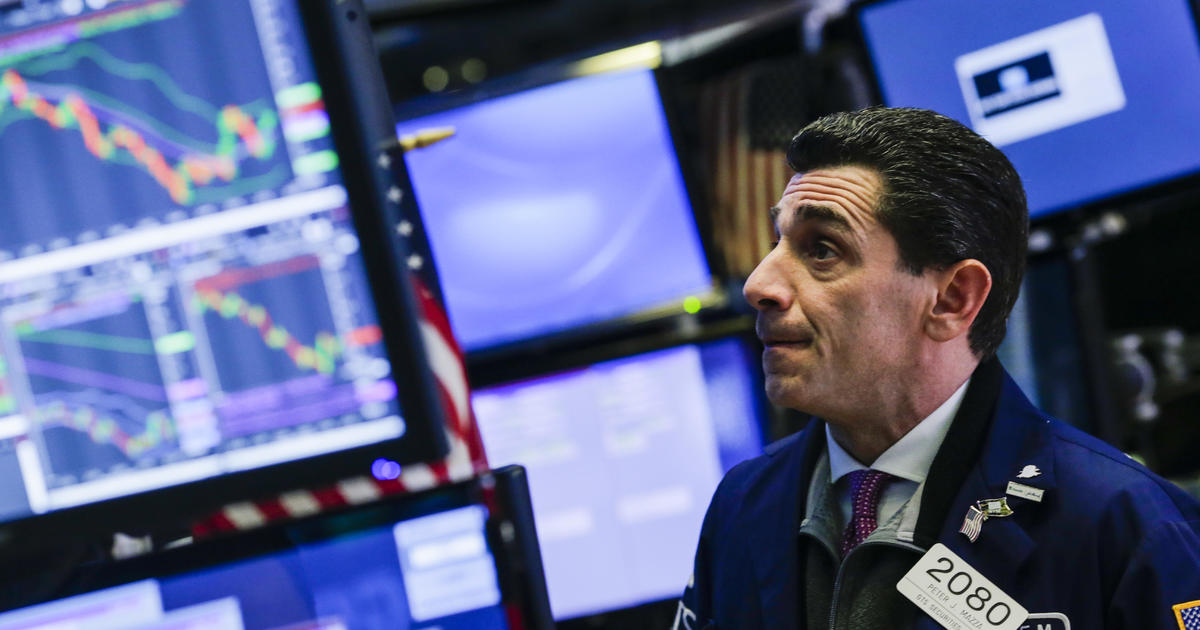 "Nasdaq enters ""bear"" market, as stocks cap worst week in years - CBS News thumbnail"