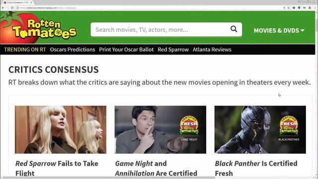 Rotten Tomatoes Where Movie Reviews Are Fresh Or Rotten Cbs News