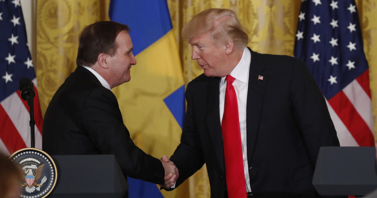 Fact check: Is Trump right that Sweden is the 8th largest investor in the U.S.?