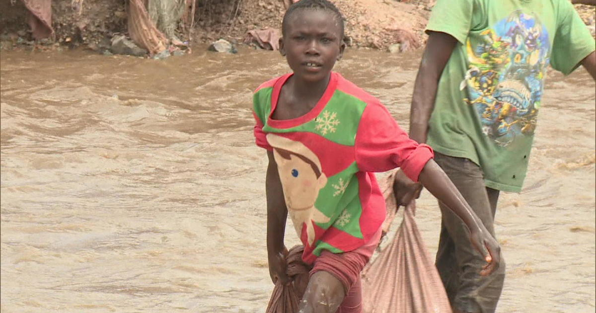 Cobalt miner Ziki escapes child labor in Congo after CBS News investigation