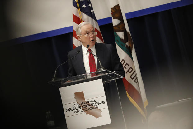 Attorney General Jeff Sessions Makes A Sanctuary Jurisdiction Announcement In Sacramento