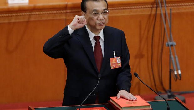 Chinese Premier Li Keqiang re-appointed to 5-year term