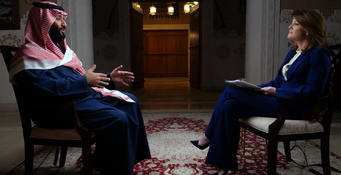 Saudi Crown Prince Talks To 60 Minutes