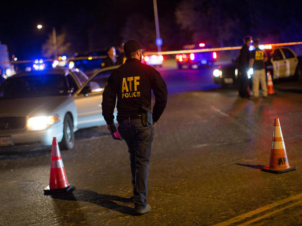 Authorities maintain a cordon near the site of a reported explosion in southwest Austin