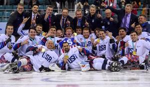 U.S. sled hockey team takes gold at the Paralympics with last-minute heroics