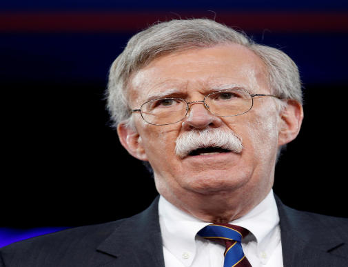 FILE PHOTO: Former U.S. Ambassador to the United Nations John Bolton speaks at the Conservative Political Action Conference (CPAC) in Oxon Hill, Maryland