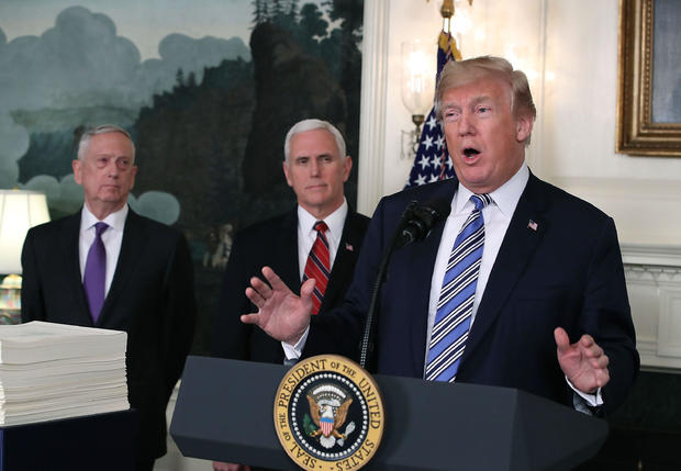 President Trump Makes Statement And Signs Spending Bill