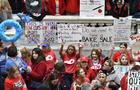 Teacher Protests