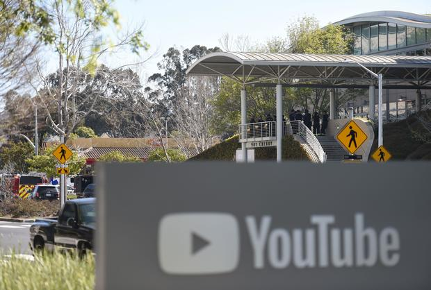 Woman wounds 4, then kills herself at YouTube headquarters in California