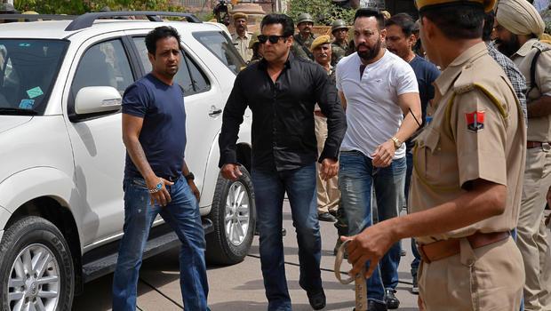 Bollywood star Salman Khan handed jail term for poaching