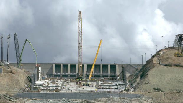 Heavy rain may test spillway at nation's tallest dam