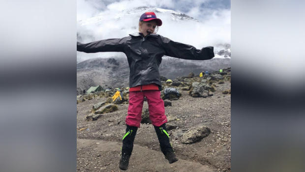 Meet the 7-year-old who climbed Mt. Kilimanjaro and broke world record