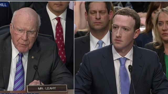Mark Zuckerberg testimony: Senators question Facebook CEO