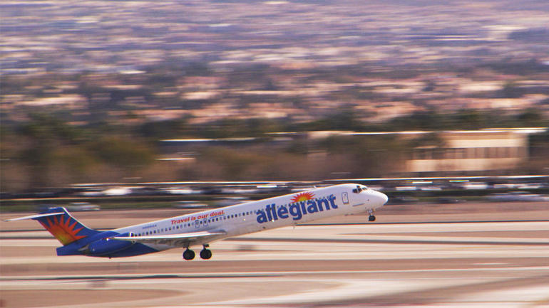 Local flyers react to report about Allegiant Air's safety