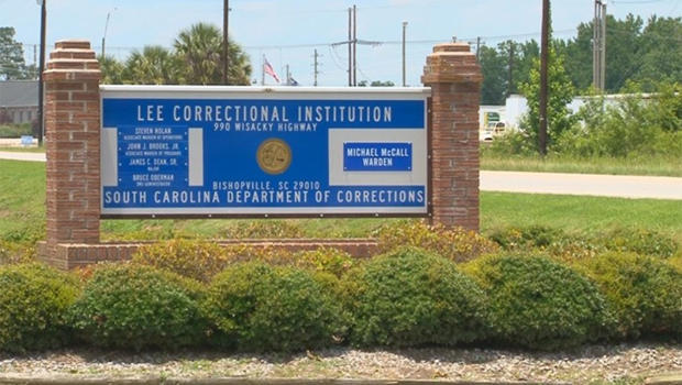 Entrance to Lee Correctional Institution in Bishopville South Carolina                        WLTX-TV