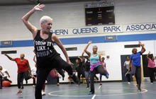 """Feisty fitness instructor: """"Fitness has no age"""""""