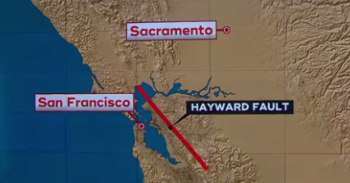 Hayward Fault Warning Literally Nobody Should Be Surprised By An Urban Earthquake Cbs News Mapped scale will control visualization of the fault at various scales. hayward fault warning literally