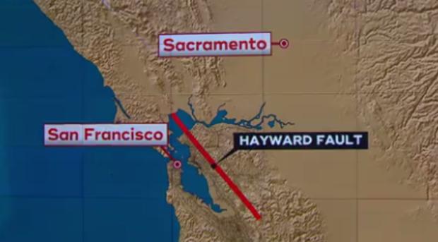 Hayward Fault warning: \