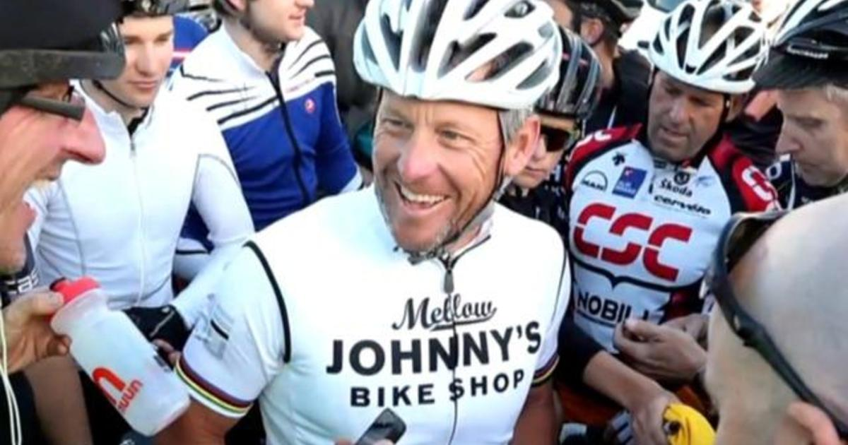 Lance Armstrong settles  100M lawsuit with U.S. government - CBS News 7b887e486