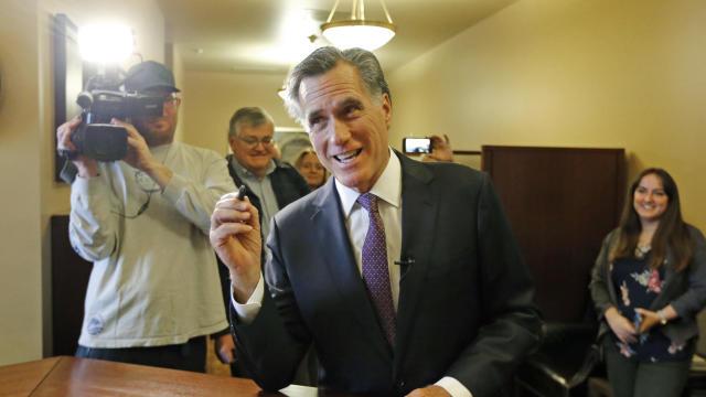 Senate Utah Romney