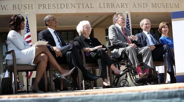 George W. Bush Library Dedication