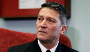 Trump suggests VA nominee Ronny Jackson could withdraw