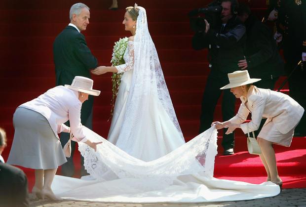 Prince Laurent Of Belgium Marries Claire Coombs