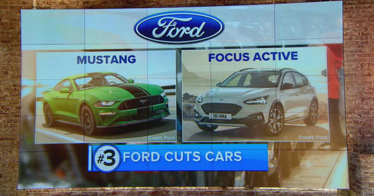 Ford Focus Active Mustang Will Be Ford S Only Cars By 2020 Will