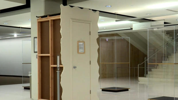 """The Cry Closet"" is seen in a library on the University of Utah's campus in Salt Lake City."