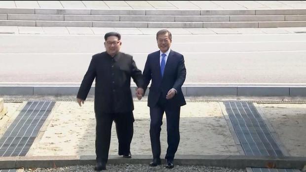 Kim Jong Un, Moon Jae -in