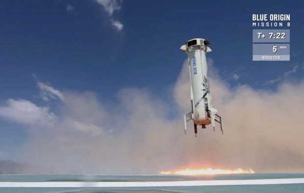 Blue Origin to launch and land its New Shepard rocket Sunday