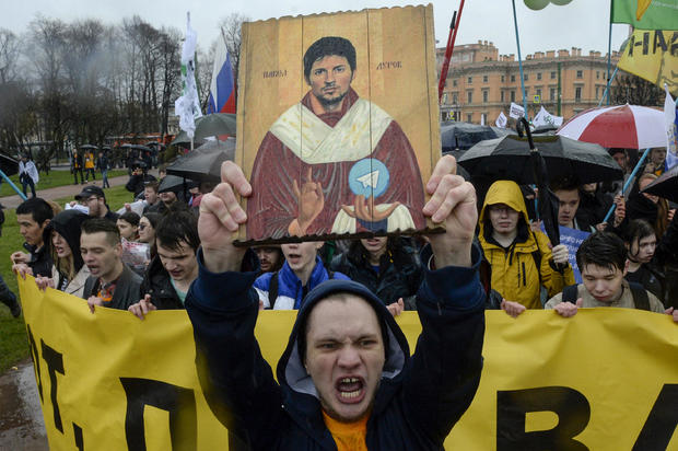 RUSSIA-MAY DAY-DEMO