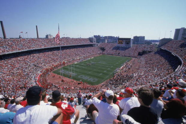 A general view of Ohio Stadium