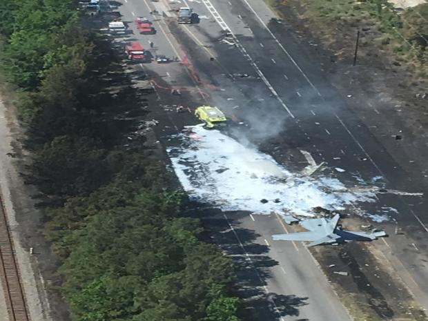 Savannah plane crash: Air National Guard C-130 plane crashes on road