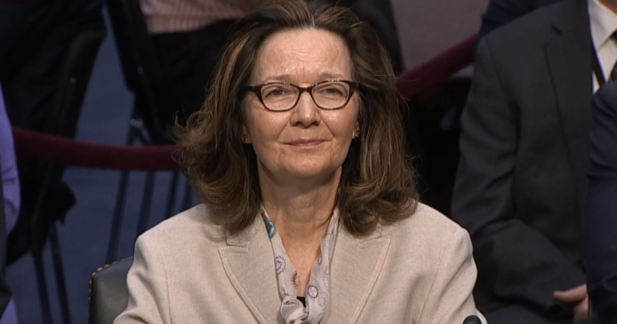 Gina Haspel faces lawmakers in confirmation hearing to be CIA director -- live stream